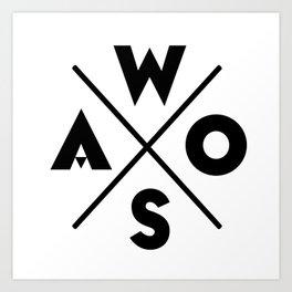 WOSA - World of Street Art Art Print