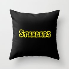 Steelers Throw Pillow