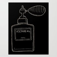 perfume Art Prints featuring Perfume by Ocso