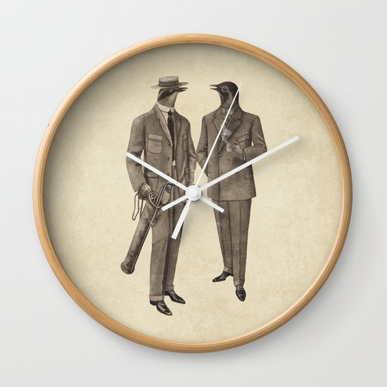 Birds of a Feather Wall Clock