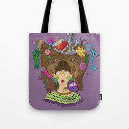Ursidae - Masquerade Collection Tote Bag