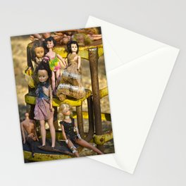 Dolls Waiting Stationery Cards