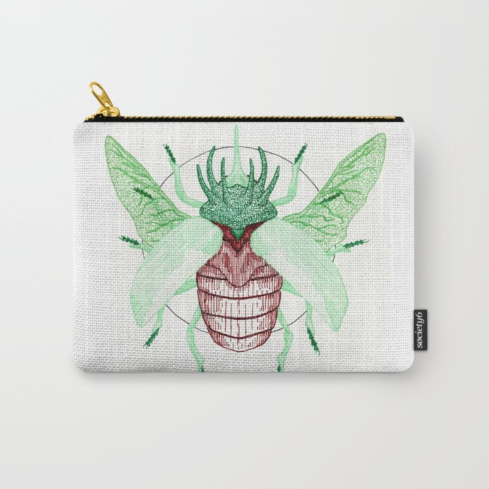 Thorned Atlas Beetle Carry-All Pouch