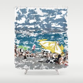 Beach III Shower Curtain