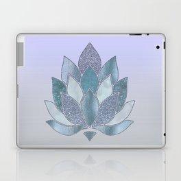 Elegant Glamorous Pastel Lotus Flower Laptop & iPad Skin