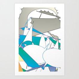 Color #7 Art Print