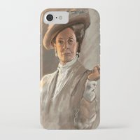 downton abbey iPhone & iPod Cases featuring Downton FU by Wanker & Wanker