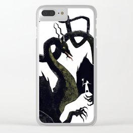Kozu the Dragon Clear iPhone Case