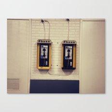 Pay Phone V Canvas Print