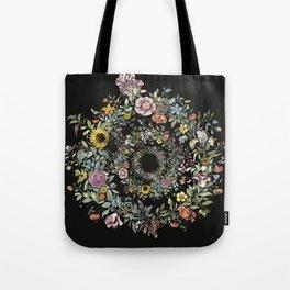 Circle of Life Dark Tote Bag