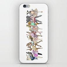 Animal Square Dance iPhone Skin