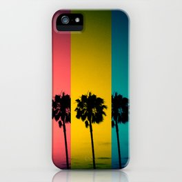 Vintage Palm Tree iPhone Case