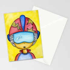 Aliem Space Explorer Boy Stationery Cards