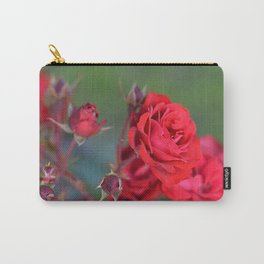 Blooming Roses Carry-All Pouch