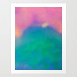 Powder Drop II Art Print