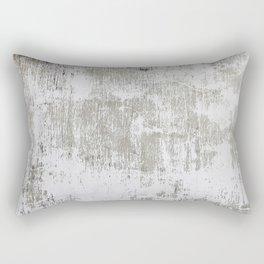 Vintage White Wall Rectangular Pillow