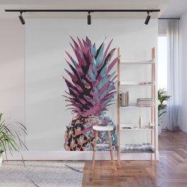 Pop Pineapple Wall Mural
