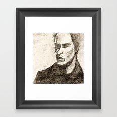 Mr Shady by D. Porter Framed Art Print