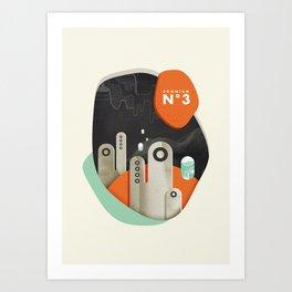 Somnium n°3 Art Print