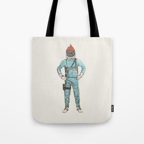 Zissou In Space Tote Bag