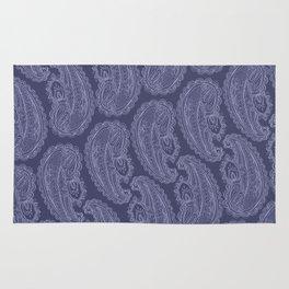 Purple Paisley Rug