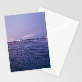 Low Tide, Ringsend, Dublin. Stationery Cards