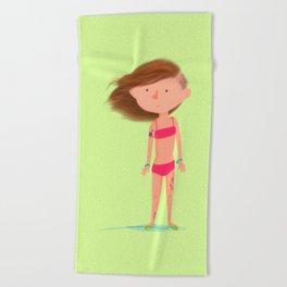 Summer Girl Beach Towel
