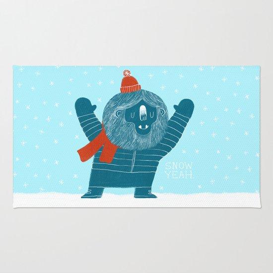 Snow Yeah Rug