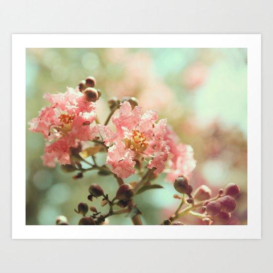 Soft and Sweet! Art Print