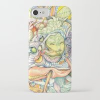 insect iPhone & iPod Cases featuring Compositions insect by Maethawee Chiraphong