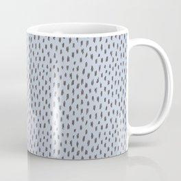 Wild spots/ Grey & blue Coffee Mug