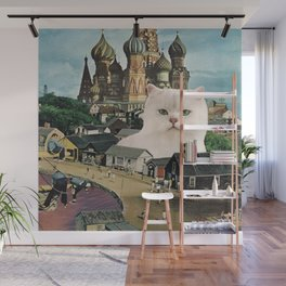 Giant Cat Wall Mural