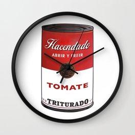 Lata de Tomate Triturado Hacendado  Wall Clock