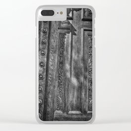 The Cross On The Door Clear iPhone Case