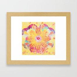FlowerWaltz05 Framed Art Print