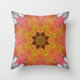 Sugar maple mandala 1 Throw Pillow