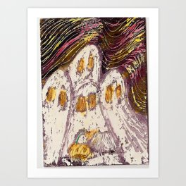 Ghosts by Karen Chapman Art Print