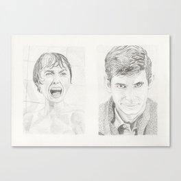 Star-crossed lovers Canvas Print
