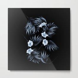 Floating flowers #01 Metal Print