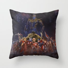 all good and bad Throw Pillow