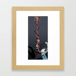 MISTAKES WERE MADE Framed Art Print