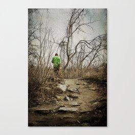 Skateboard Stroll Canvas Print