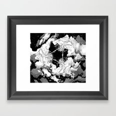Kaleidoscope Sky Framed Art Print