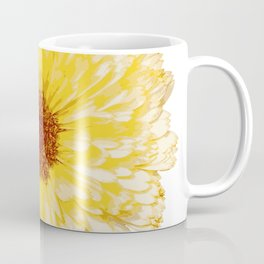Beautiful Yellow Marigold Vector Isolated Coffee Mug