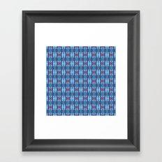 pttrn22 Framed Art Print