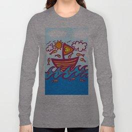 LUCKY FISHING DAY Long Sleeve T-shirt