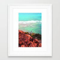 lighthouse Framed Art Prints featuring Lighthouse by Kakel-photography