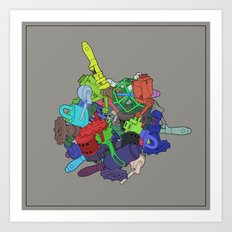 Drop Prop Mechanical Art Print