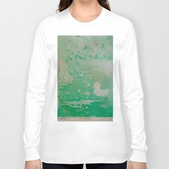 MoonSea Fantasy lightgreen Long Sleeve T-shirt