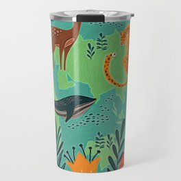 Once Destroyed Nature's Beauty Cannot Be Repurchased At Any Price Travel Mug